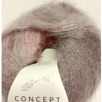 Silk Mohair, Bordeaux-Fuchsia-Rosa