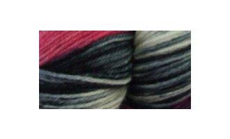 Sockenwolle Karussell, Violett-Rosa-Silbergrau