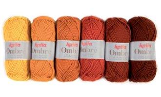 Ombré, Orangetöne