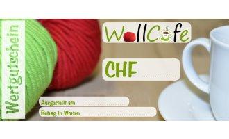 Wollcafe Geschenks-Gutschein 100.00 CHF