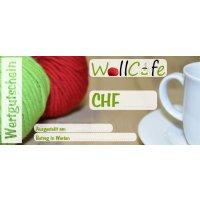 Wollcafe  Geschenks-Gutschein 50.00 CHF