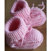 Baby-Schühchen, rosa