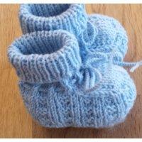 Baby-Schühchen, hellblau