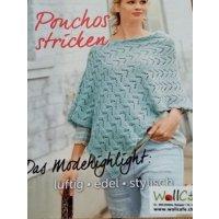 Ponchos stricken - das Modehighlight