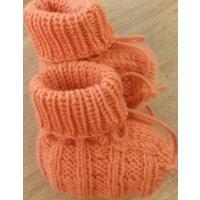 Baby-Schühchen, orange