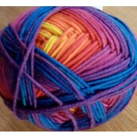 Merino 120, Regenbogen-Farben