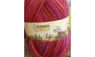 Mally Socks, Pink-Lila-Rot