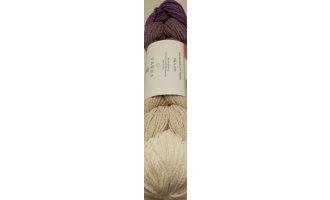 Rope Plait, Lila-Camel-Winterweiss