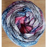 Karibik Cotton, Lila-Pink-Blau