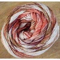 Karibik Cotton, Rot-Lila-Braun