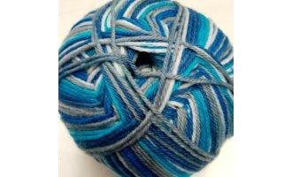Mally Socks, Blau-Töne