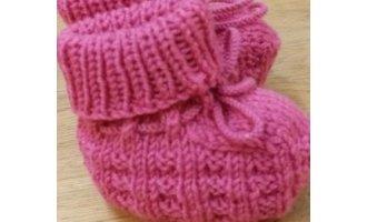 Baby-Schühchen, pink