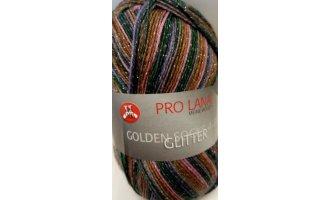 Golden Socks Glitter, Camel-Lachs-Grün-Violett-Rosa
