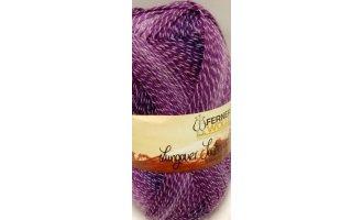 Lungauer Sockenwolle Baumwolle, Violett-Töne