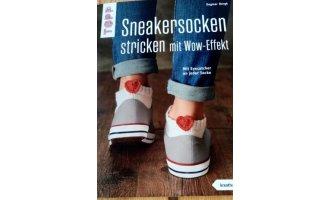 Sneakersocken stricken mit Wow Effekzt
