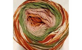 Fair Cotton Craft, Altrosa-Rost-Lindengrün