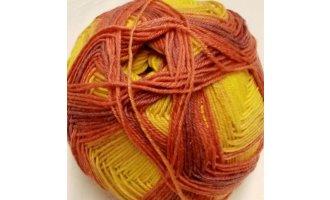 Sockenwolle, Senf-Rost